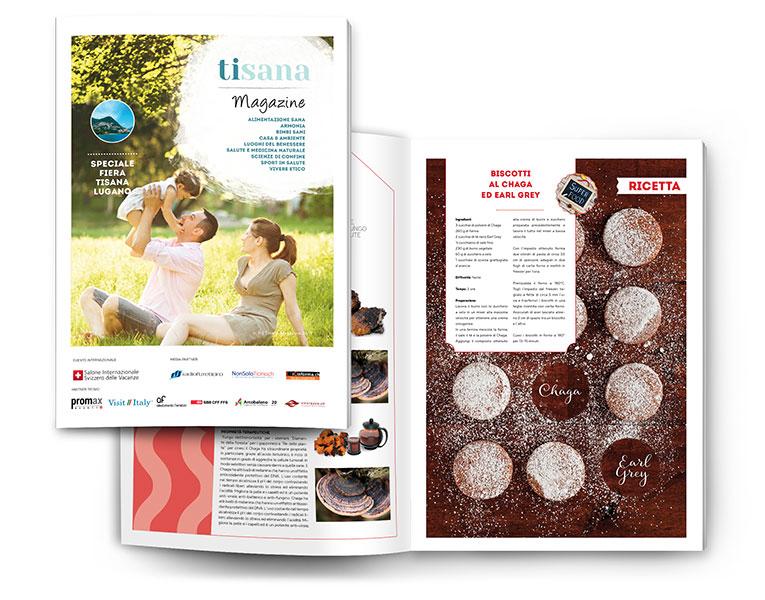 Tisana Magazine entra in tutte le 90.000 case del Canton Ticino